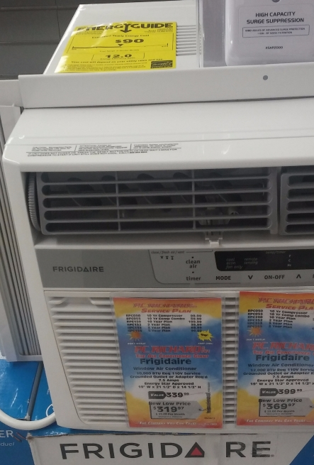 Air Conditioner in PC Richards