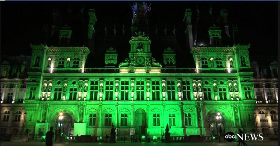 Paris in Green